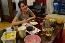 Wine and gelatto amongst friends (Monica)